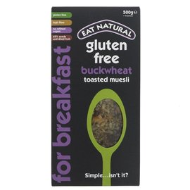 Eat Natural Eat Natural Gluten Free Buckwheat Toasted Muesli 500g