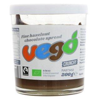 Vego Vego Organic Hazelnut Chocolate Spread 200g