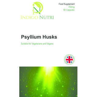 Indigo Nutri Indigo Nutri Psyllium Husk 750mg 90 Capsules