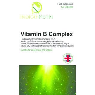 Indigo Nutri Indigo Nutri Vitamin B Complex 120 Capsules