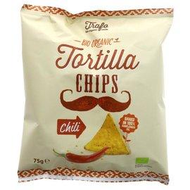 Trafo Trafo Organic Tortilla Chips Chili 75g