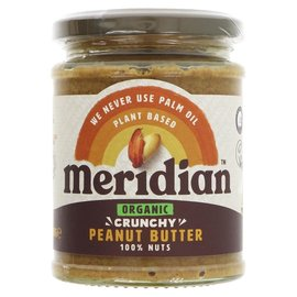 Meridian Meridian Organic Crunchy Peanut Butter 280g