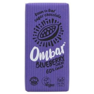 Ombar Ombar Organic Blueberry & Acai Bar 35g