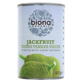 Biona Biona Organic Jackfruit Young Tender Pieces in Salted Water 400g