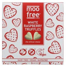 Moo Free Moo Free White Raspberry Truffles 108g