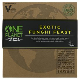 One Planet Pizza One Planet Pizza Exotic Funghi Feast Pizza 455g