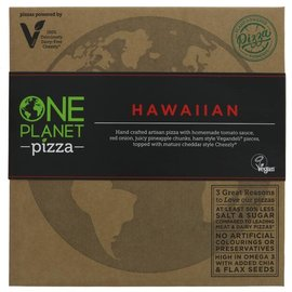 One Planet Pizza One Planet Pizza Hawaiian Pizza 458g