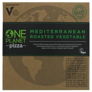 One Planet Pizza One Planet Pizza Mediterranean Roasted Vegetable Pizza 486g