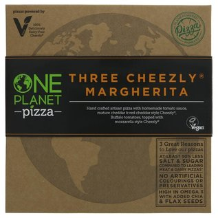 One Planet Pizza One Planet Pizza Three Cheezly Margherita Pizza 430g