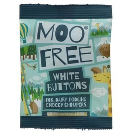 Moo Free Moo Free White Buttons 25g
