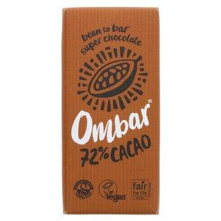 Ombar Ombar Organic 72% Raw Dark Chocolate Bar 70g