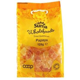 Suma Wholefoods Suma Wholefoods Diced Papaya 125g