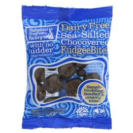 Fabulous Free From Factory Fabulous Free From Factory Vegan Chocovered Sea Salt Fudgee Bites 65g