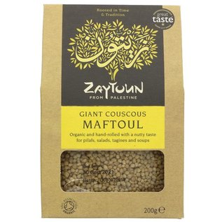 Zaytoun Zaytoun Palestinian Maftoul Giant Couscous 200g