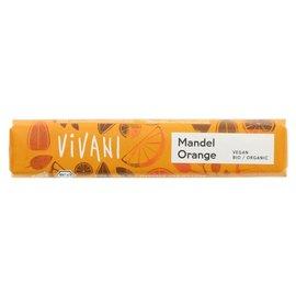 Vivani Vivani Organic Vegan Almond Orange Rice Chocolate 35g