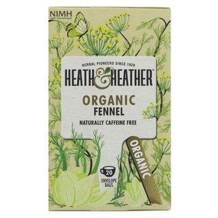 Heath & Heather Heath & Heather Organic Fennel Tea 20 bags