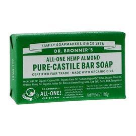 Dr Bronners Dr Bronners Organic Almond Soap Bar 140g