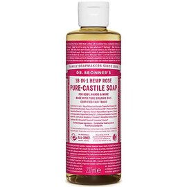 Dr Bronners Dr Bronners Organic Rose Liquid Soap 237ml