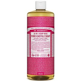 Dr Bronners Dr Bronners Organic Rose Liquid Soap 946ml