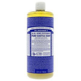 Dr Bronners Dr Bronners Organic Peppermint Liquid Soap 946ml