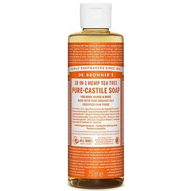 Dr Bronners Dr Bronners Organic Tea Tree Liquid Soap 237ml
