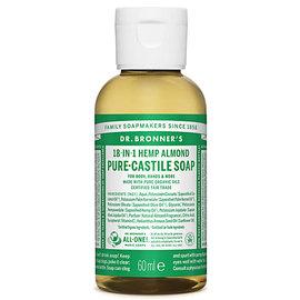 Dr Bronners Dr Bronners Organic Almond Liquid Soap 60ml