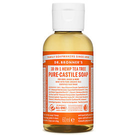 Dr Bronners Dr Bronners Organic Tea Tree Liquid Soap 60ml