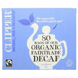 Clipper Clipper Organic Fair Trade Decaffeinated Tea 80 bags