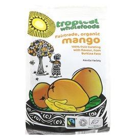 Tropical Wholefoods Tropical Wholefoods Organic Fair Trade Dried Mango 100g