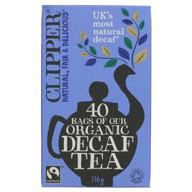 Clipper Clipper Organic Decaffeinated Tea 40 bags
