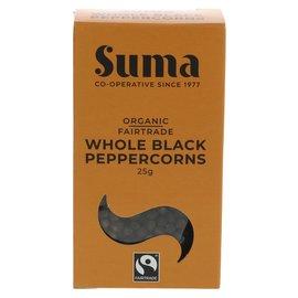 Suma Wholefoods Suma Wholefoods Organic Fair Trade Ground Black Pepper 25g