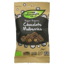 The Raw Chocolate Co The Raw Chocolate Co Organic Vegan Raw Chocolate Covered Mulberries 28g