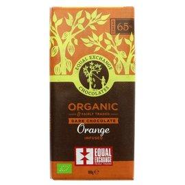 Equal Exchange Equal Exchange Organic Orange 65% Dark Chocolate 100g