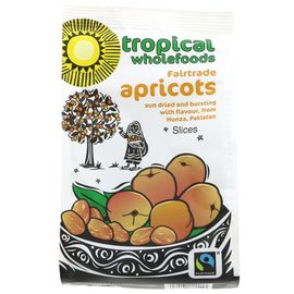 Tropical Wholefoods Tropical Wholefoods Fair Trade Sliced Apricots 125g
