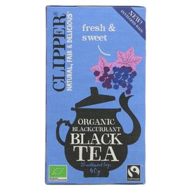 Clipper Clipper Organic Blackcurrant Black Tea 20 bags