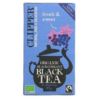 Clipper Clipper Organic Blackcurrant Black Tea 20 bags