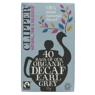 Clipper Clipper Organic Decaf Earl Grey Tea 40 bags
