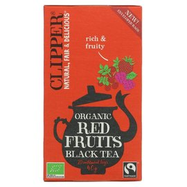 Clipper Clipper Organic Red Fruits Black Tea 20 bags