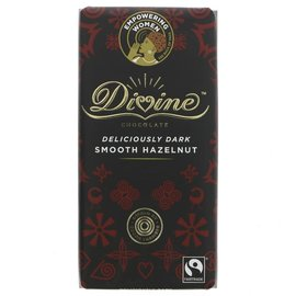 Divine Divine 70% Dark Smooth Hazelnut Chocolate 90g