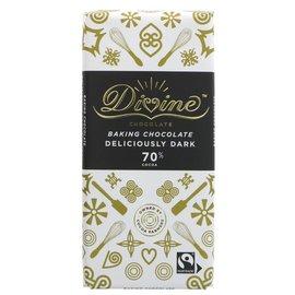 Divine Divine 70% Dark Baking Chocolate 150g