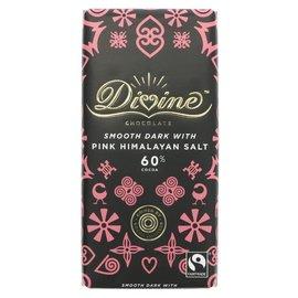 Divine Divine 60% Dark Smooth Chocolate with Pink Himalayan Salt 90g