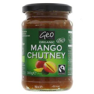 GeoOrganics Geo Organics Organic Mango Chutney 300g