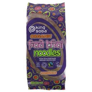 King Soba King Soba Organic Fair Trade Pad Thai Noodles 250g [12]
