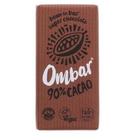 Ombar Ombar Organic 90% Raw Dark Chocolate Bar 35g