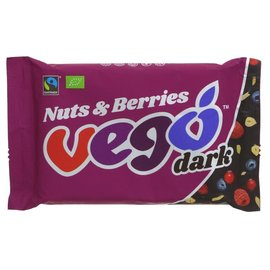Vego Vego Organic Dark Nuts & Berries 85g