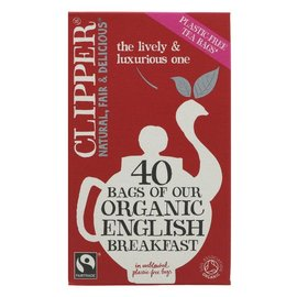 Clipper Clipper Organic English Breakfast Tea 40 bags