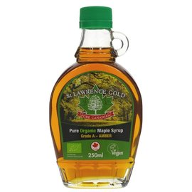 St Lawrence Gold St Lawrence Gold Organic Maple Syrup Grade A Amber 250ml