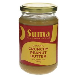 Suma Wholefoods Suma Wholefoods Organic Crunchy Salted Peanut Butter 340g