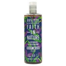 Faith In Nature Faith In Nature Lavender & Geranium Body Wash 400ml