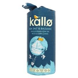 Kallo Kallo Sea Salt & Balsamic Vinegar Rice Cakes 127g